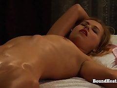 Mistress Enjoys In Sensual Orgasmic Massage By Lesbian Slave