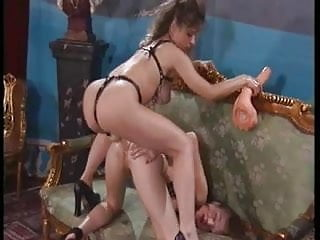 Fetish german lesbian fisting and strapon play