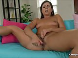 Helena Price Dildoing Her Pussy On Cam
