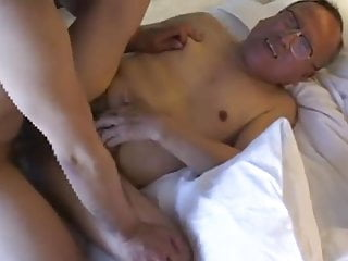 Japanese daddy fuck grandpa M-214