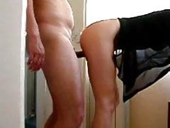 wife plays with fuckbuddys big cock while I film them