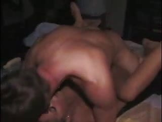 Party Whore Caught On Film Fucking