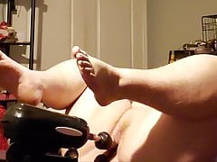 BBW wife and her toy