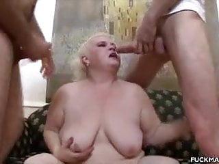 3some gets jizzed...