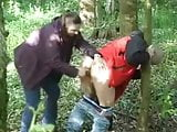milked and wanked in the forest