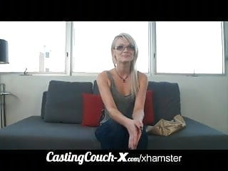 CastingCouch-X 19yo teen from Oregon tries porn