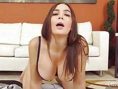 Solo Vibrator Masturbation Scene With Big Tits Brunette