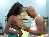 Interracial lovemaking with the horny Chelsea Julius