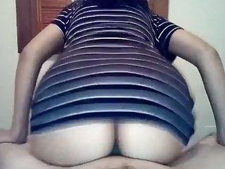 Latina Wife Rides Dick