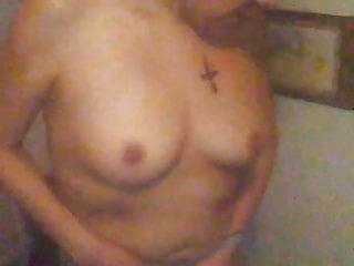 Strip Slut gets turned around, bent over & fucked doggy