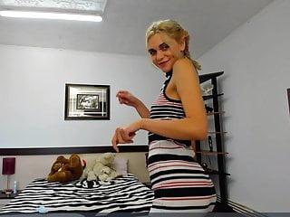 Melisa strips live on cam