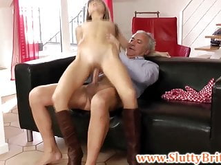 Young british babe solo masturbation