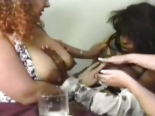 Lesbian Babes(blck,wht,lat,) a lactation party (MrNo)