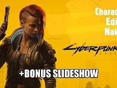 Cyberpunk2077 - Character Editor & Slideshow (Playstation 4)