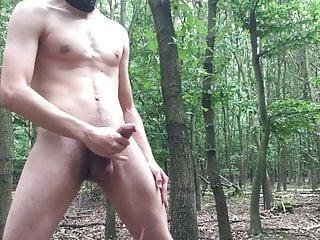 YOUNG SLAVE MASTURBATOR EXHIB IN FOREST
