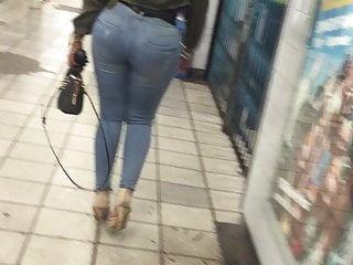 big Stunning Candid butt) uk (big ass