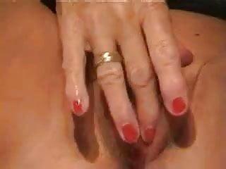 Mature in stocking masturbate