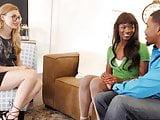 Ana Foxxx & Alexa Grace Interracial Threesome Sex