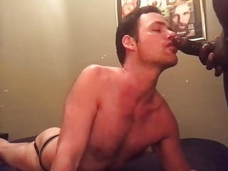 Talented cocksucker pounded by BBC
