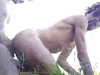 Desi Gay Fucking without condam with her Friend in jangle p1