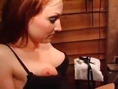 Dutch MILF,  she fucks him, he fucks her. BDSM soft