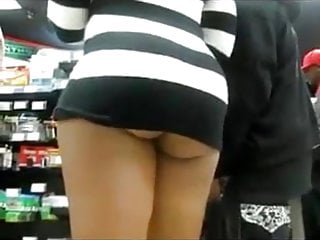 Brazilian woman with nice big ass filmed in...