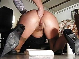 amateur anal fisting in the floor