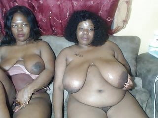 Zambian girls hanging with their big shiny out...