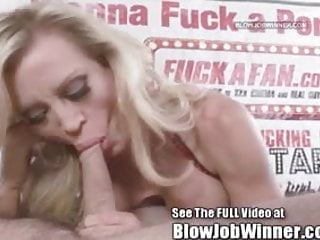Amber Lynn Blowing Devoted Fan Jon
