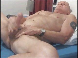 old man wanks