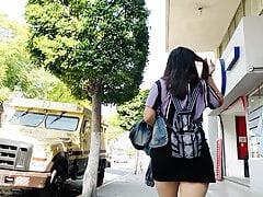 Mini Black Skirt . Teen Donk 2