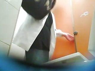 Toilet hidden cam X
