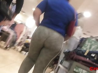 Fatty Booty Latina at the Mall