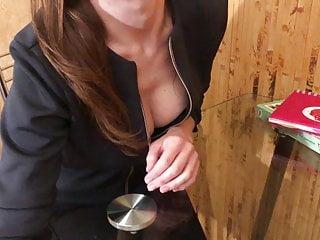 Lustful teacher seduces amp him creampie...