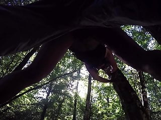 ToutePourVous : sissy anally fucked in the woods