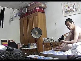 Novice Asian Lover Provides A Mechanical BJ