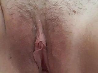 Wet creamy pussy fingering