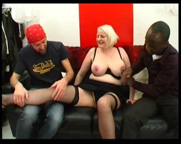 Blonde Milf Anal Threesome