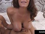 Hot Cougar Charlee Chase & Petite Carmen Valentina Suck Dick