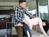 Dirty Flix - Miranda Miller - Rough fuck for yoga stepsister