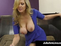 dominating cougar ms. julia ann orders no cum from cock!free full porn
