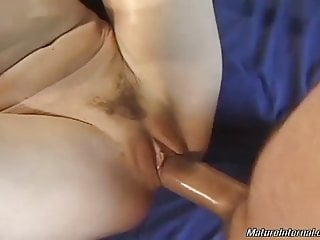 Mature having first deepthroat and anal pound experiences