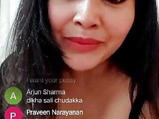 PAVITRA, HOT LIVE NUDE  SEX SHOW  ON TANGO APP