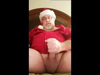 Here cums santa