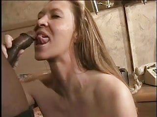 Pale milf loves sucking even after...