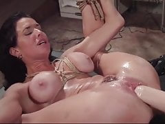 Milf Whore squirts and gets anally fisted