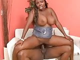Big black tits Stacy Adams