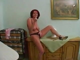 ironing makes her horny