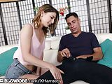 Kristen Scott Deepthroats Step-Brothers Big Cock