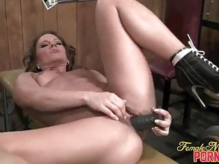 Inari Vachs - Big Black Dildo